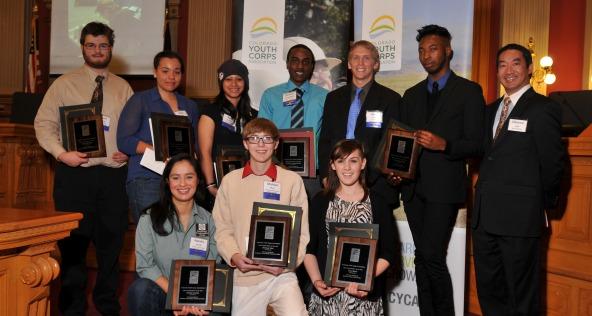 Colorado Youth Corps Awards Ceremony